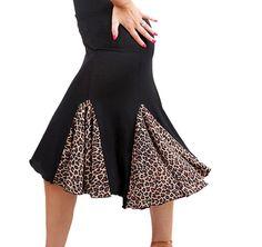 Sfs009ap Women's Ballroom Latin Salsa Tango Swing Dance Skirt