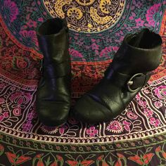 Baretraps Black Ankle Moto Style Boots - Mercari: Anyone can buy & sell