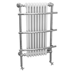 The Huntington Beta Heat traditional radiator is a fantastically traditional bathroom radiator that would compliment a whole variety of period styled bathrooms. It comes with the appropriate fixings and offers a heat output of 3780 BTUs.