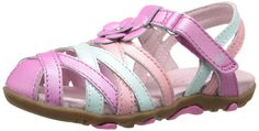 Stride Rite SRT PS Lily Sandal (Infant/Toddler/Little Kid) ** Unbelievable  item right here! : Girls sandals
