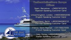 TheBoatOnlineStore Europe. Boat Store Online of European Boating Manufacturers.The Largest Catalog of Boat Accessories. Boat Parts Online with Deliveries Worldwide. http://www.theboatonlinestore.com/
