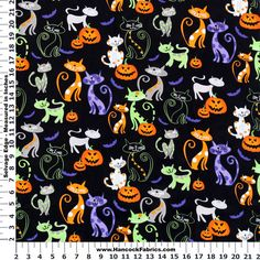 BOO! Don't let Halloween sneak up on you - get your spooky fabrics from Hancock Fabrics!