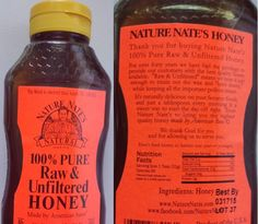 """OMG! SWEET! DELICIOUS! -- Five Reasons I purchased Nature Nate's 100% PURE, Raw & Unfiltered HONEY: [1] Local Company. They're in Frisco, Texas (Dallas/Fort Worth metropolis). [2] Honey made by American bees. [3] Raw & Unfiltered HONEY. [4] 1st line on front of bottle has, Ps. 119:103. [5] Back of bottle has, """"We thank God for you and for allowing us to serve you.""""  **Best HONEY I've ever tasted.**  It's the first time I didn't need additional sugar in my tea ... just Nature Nate's Honey…"""