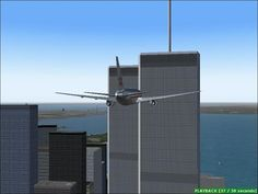 FS2004 - September 11 - The North Tower Attack (American Airlines Flight 11) - YouTube