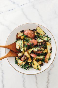 Potato kale salad