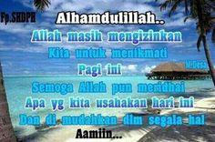 Assalamualaikum..good morning..alhamdulillah