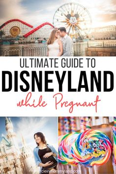 Is Disneyland while pregnant a good idea? Find out my top tips about how to have a blast at Disneyland during every stage of pregnancy. Plus, get ideas on maternity photos and Disney-themed pregnancy announcements! #disneyland #babymoon