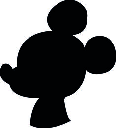 Downloadable Disney Mickey, Donald and Goofy Silhouettes - Food in Literature