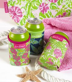 Cute little Lilly Koozies!