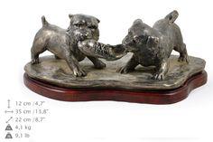 Norwich Terrier scene dog statue limited by ArtDogshopcenter