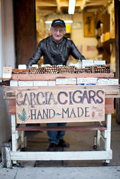 Key West Cigar Portrait Smoking Cuban Photo by DanielleAquiline, $30.00