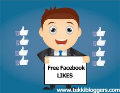 Free Facebook Likes  by tekkibloggers.com