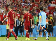 La Roja no estuvo en Brasil