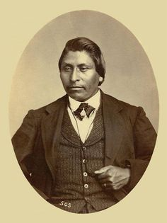 An old photograph of Lightning aka Henry Clay aka Che-po-qua - Ottawa Native American Photography, Native American Photos, Native American Tribes, American History, Native Americans, Bureau Of Indian Affairs, Henry Clay, Historical Pictures, First Nations