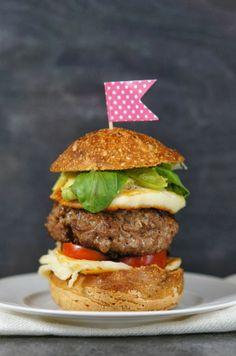 A #gourmet #hamburger