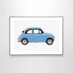 Fiat 500 1957 https://www.etsy.com/listing/271010906/fiat-500-1957-big-poster-19x13-inches-on