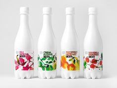 New Packaging for Olvi Cider by Bond