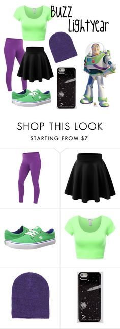 """Toy Story: Buzz Lightyear"" by x-sweetea-x ❤ liked on Polyvore featuring Terramar, DC Shoes and Marc by Marc Jacobs"