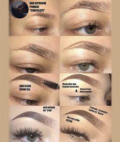 @ v a l e g d d ausformung bemalung maquillaje makeup shaping maquillage Eyebrow Makeup Tips, Makeup 101, Makeup Goals, Skin Makeup, Makeup Inspo, Makeup Inspiration, Makeup Brushes, Beauty Makeup, Makeup Eyebrows