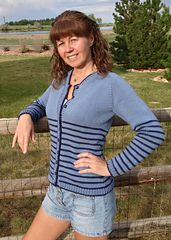 Ravelry: Jeans Cardigan pattern by Esther Hartley