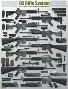 Modern rifle pattern.