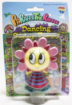 Parappa The Rapper Wind-up Dancing Sunny Funny Figure Medicom Toy JAPAN GAME