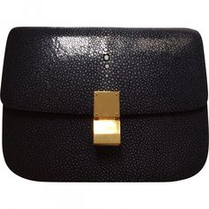 celine stingray box bag s9a2  Black Handbag CELINE Box BagBlack