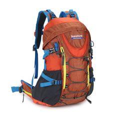 0c73eae7ef 40L Men women s Backpack Pack Laptop with frame Packsack JL2206