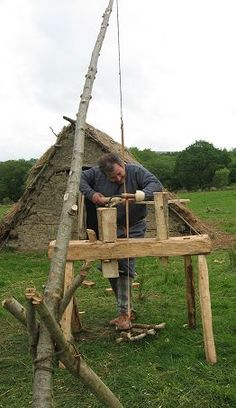 Anglo-Saxon Crafts - Wood Turning