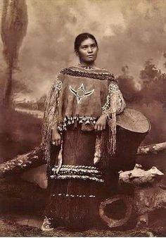Native. Strikingly beautiful woman.