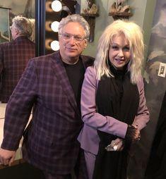 Cyndi Lauper and Harvey Fierstein 2018