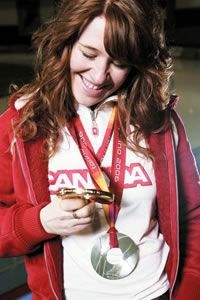 Clara's strength and persistence has helped her to achieve what she has. Clara Hughes, Red Hair, Strength, Style, Swag, Redheads, Ginger Hair, Red Hair Color, Red Heads