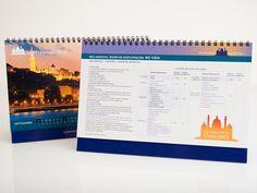 Calendario Convención Mapfre 2013 realizado en Plataforma Publicidad