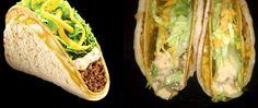 Taco Bell® Cheesy Gordita Crunch - Clone recipe.  Will make necessary GF/veg adjustments, but this is happening.