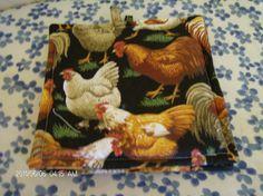 Pot Holders Set of 2 Chicken Pot Holders by SIMPLYHANDMADE24, $2.99