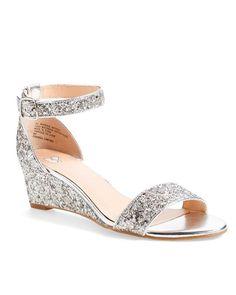 50 Best Shoes for a Bride to Wear to a Summer Wedding | Martha Stewart Weddings | BP. Roxie Wedge Sandal, $59.95; shop.nordstrom.com.