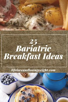 25 Bariatric Breakfast Ideas - a list of my favorites, my go-to's, tried and true bariatric-friendly recipes that you can anytim - High Protein Bariatric Recipes, Bariatric Eating, Bariatric Surgery, Vsg Surgery, Gastric Sleeve Diet, Bariatric Sleeve, Pureed Food Recipes, Soft Food Recipes, Menu