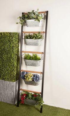 Organic Gardening Advice For New Organic Gardeners – Gardening Plant Ladder, Garden Ladder, Balcony Garden, Vertical Garden Design, Vertical Garden Diy, Vertical Planter, Metal Wall Planters, Hanging Planters, Outdoor Wall Planters