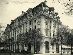"""""""Hotel Majestic: the renaissance of the mythical Paris landmark where Proust met Joyce and history was made:  It's where Proust met Joyce...""""  An exterior shot of the Majestic Hotel"""