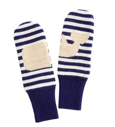 Vineyard Vines Stripe Whale Mittens- Nautical Navy from Shop Southern Roots TX