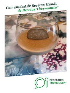 Crema de Galletas María por Irautxa. La receta de Thermomix<sup>®</sup> se encuentra en la categoría Dulces y postres en www.recetario.es, de Thermomix<sup>®</sup> Mousse, Alcoholic Drinks, Tips, Food, Puddings, 4 Ingredients, Soda, Cookies, Alcoholic Beverages