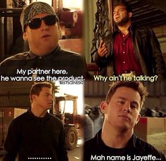 This scene from 21 Jump Street is hilarious. Watch the movie on Yamgo TV's channel! Funny Movies, Great Movies, Iconic Movies, Movies Showing, Movies And Tv Shows, 22 Jump Street, Street Quotes, Favorite Movie Quotes, Favorite Things