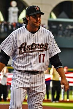 Lance Berkman was drafted by the Houston Astros in 1997 (1st round, 16th overall). He played first base for the ball club from 1999-2009. He was a six-time All-Star and four time Home Run Derby participant.