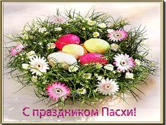 Beautiful congratulations on Easter: cards for every taste Christmas Wreaths, Congratulations, Floral Wreath, Easter, Table Decorations, Holiday Decor, Cards, Ua, Beautiful