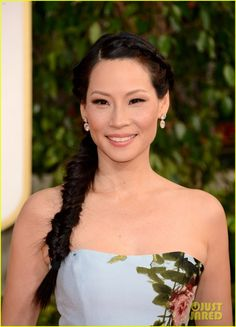 Lucy Liu - Golden Globes 2013 Red Carpet