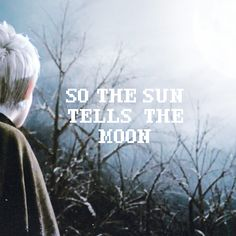 SO THE SUN TELLS THE MOON | a mix for jack frost from rise of the guardians