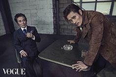 Baek Yoon-shik & Lee Byung-heon // Vogue Korea