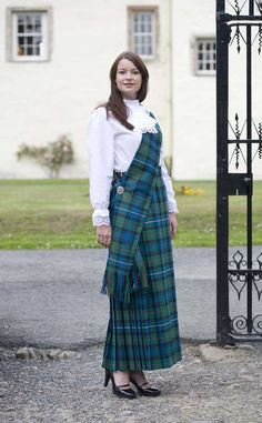 Hostess Skirt, tartan by Scotweb