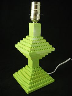Lime Green Bedroom Lego (R) Lamp