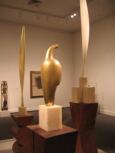 Brancusi Sculptures at MOMA NY